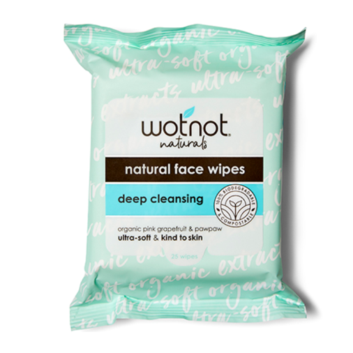 Natural Face Wipes (25 sheets)