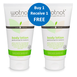 100% Natural Baby Lotion - 2 For 1 DEAL