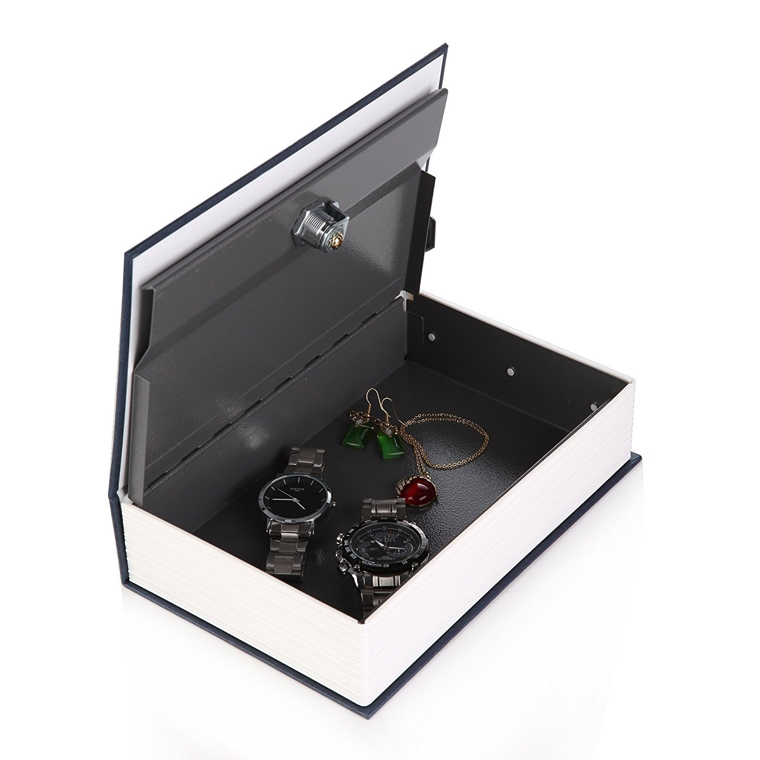 Diversion Book Safe with Key Lock - Metal