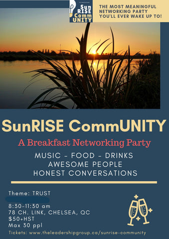 SunRISE CommUNITY - A Breakfast Networking Party