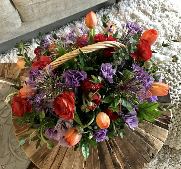 Subscription | Special Flowerbasket - Pobeau
