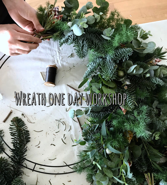 Wreath one-day workshop - Pobeau