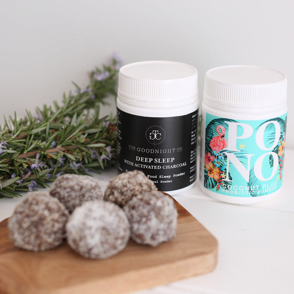 Coconut Probiotic Bliss Balls - For a good night's rest