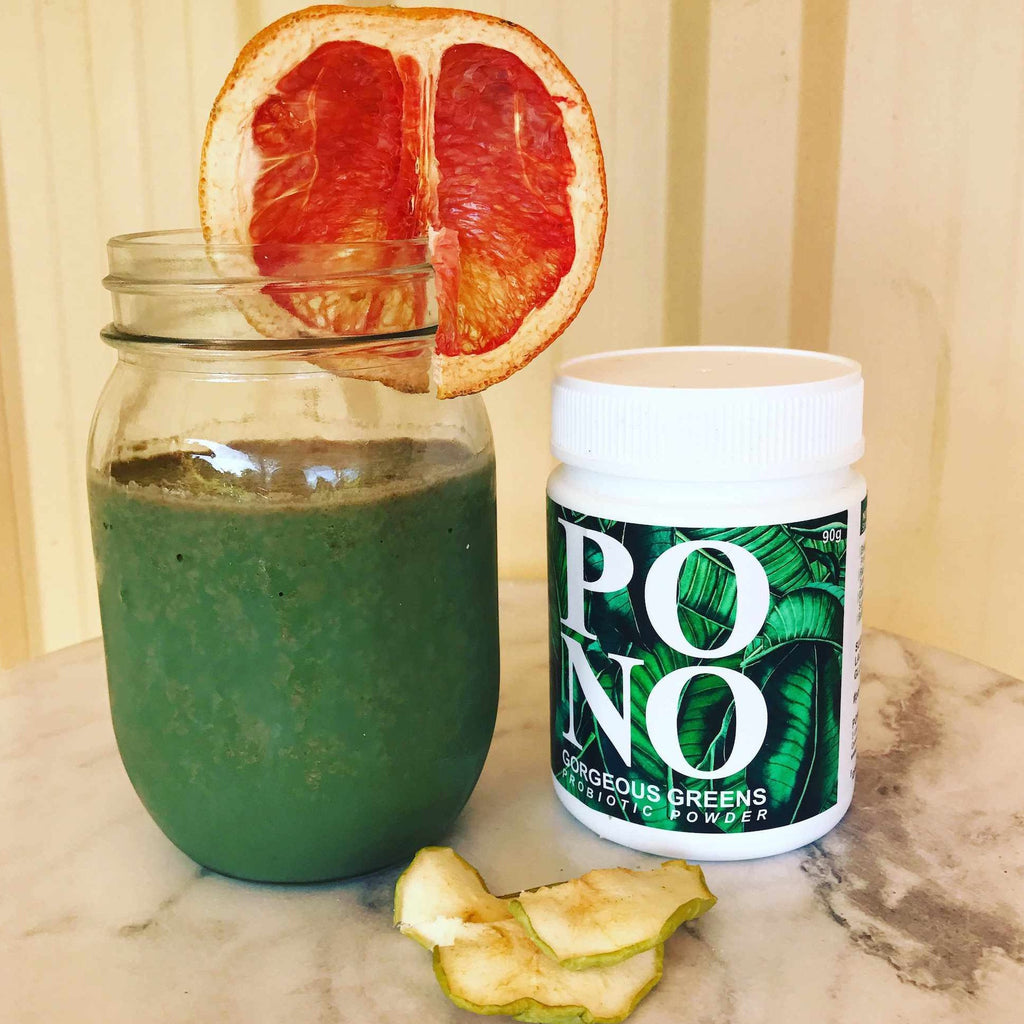 Gorgeous Greens Probiotic Smoothie Recipe & Review