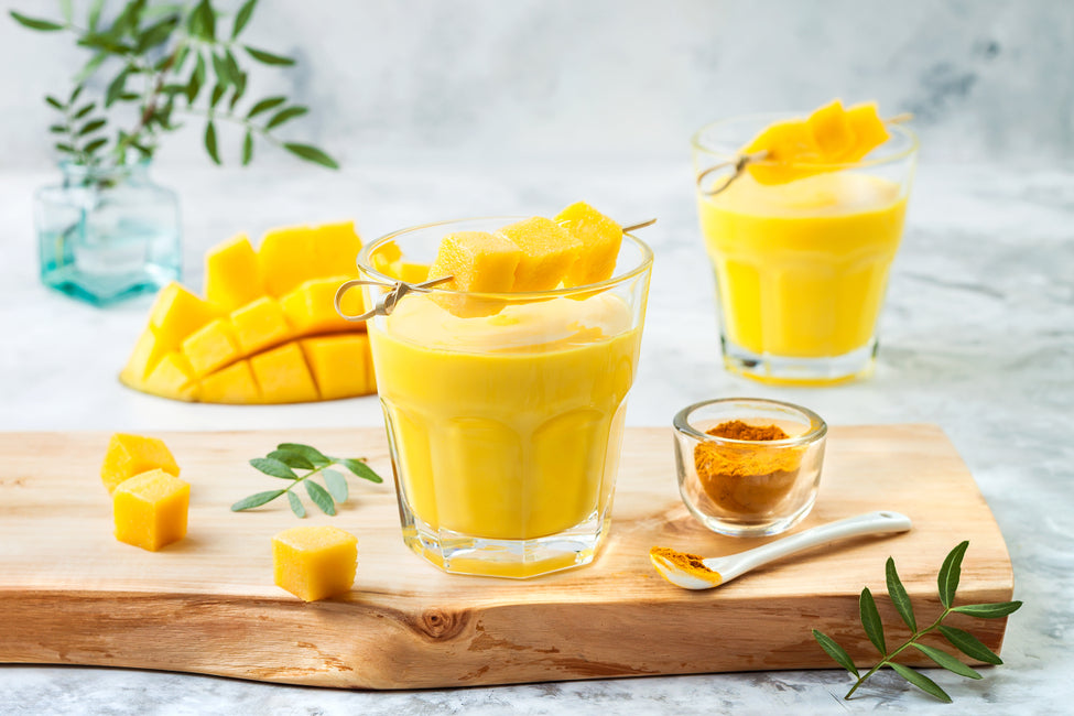 Pre and Probiotic Mango Lassi
