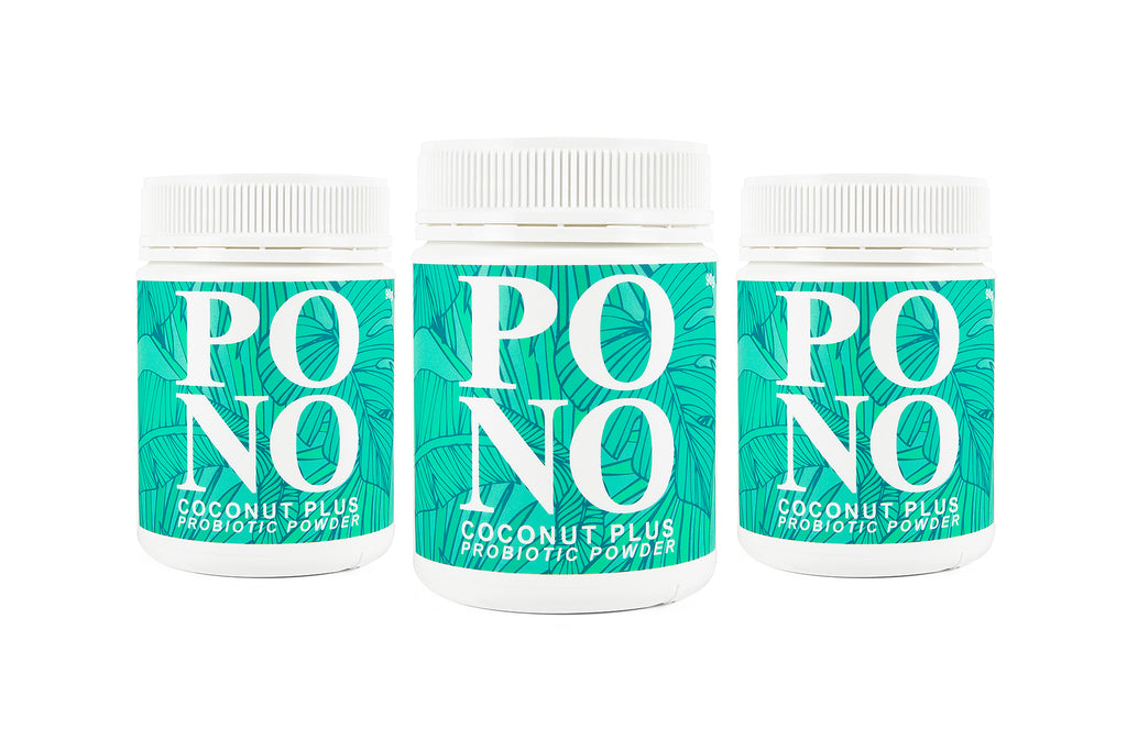 Broad Spectrum Probiotic - Coconut Plus - 3 pack