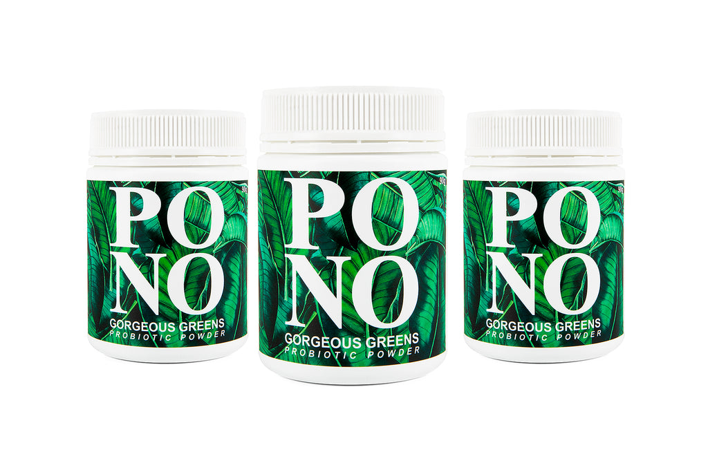 Broad Spectrum Probiotic - Gorgeous Greens - 3 pack