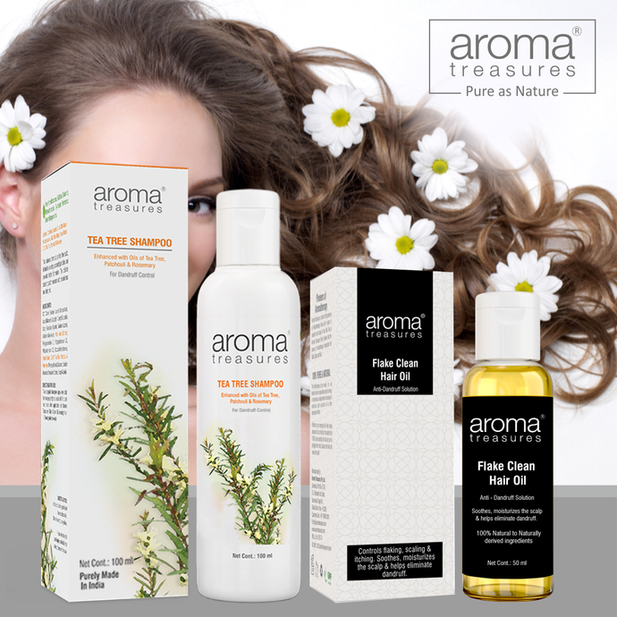 Aroma Treasures hair care anti dandruff regime