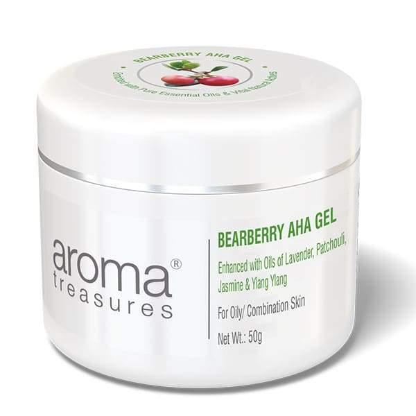Aroma Treasures Bearberry Aha Gel For Oily/Acne/Combination Skin - Aroma Treasures.com
