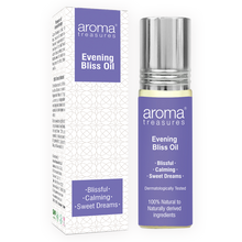 Load image into Gallery viewer, Aroma Treasures Evening Bliss Oil & roll on combo - Aroma Treasures.com