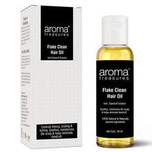 Load image into Gallery viewer, Aroma Treasures Flake Clean Hair Oil {Anti-Dandruff} ( 50ml )