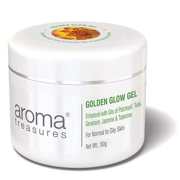 Aroma Treasures Golden Glow Gel ( For Normal To Oily Skin ) - Aroma Treasures.com