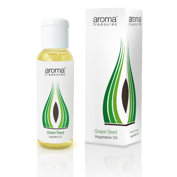 Grape Seed Vegetable Oil (50ml) - Aroma Treasures.com