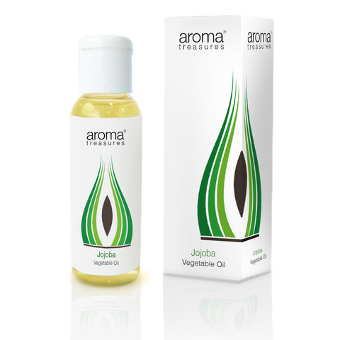 Aroma Treasures Jojoba Vegetable Oil  (50ml) - Aroma Treasures.com