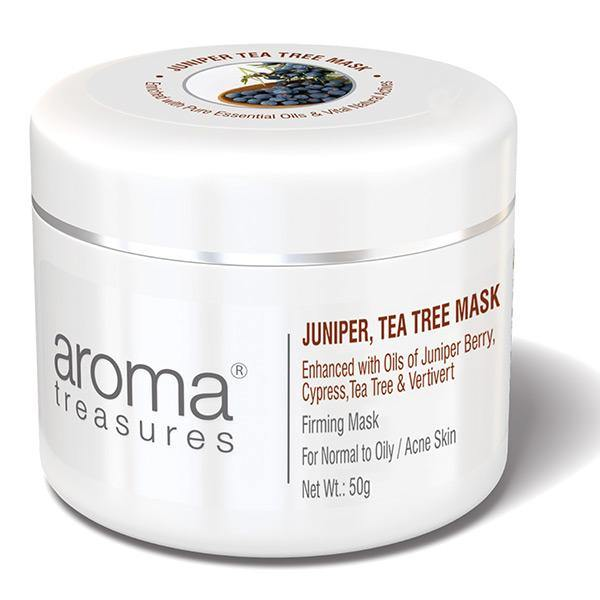 Juniper Tea Tree Mask (For Normal To Oily / Acne Skin) 50g