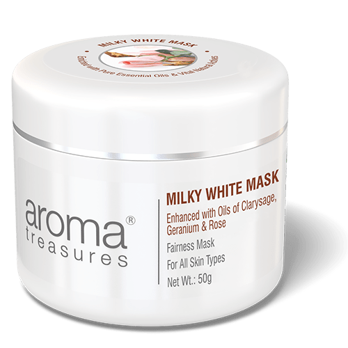 Milky White Mask