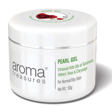 Load image into Gallery viewer, Aroma Treasures PEARL GEL (For Normal/Oily Skin) - 50g