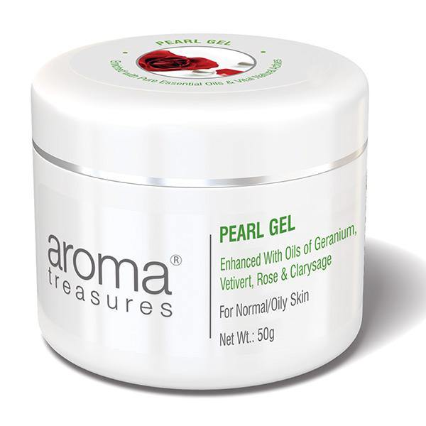 Aroma Treasures PEARL GEL (For Normal/Oily Skin) - 50g