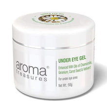 Load image into Gallery viewer, Aroma Treasures Under Eye Gel ( All Skin Types ) - Aroma Treasures.com