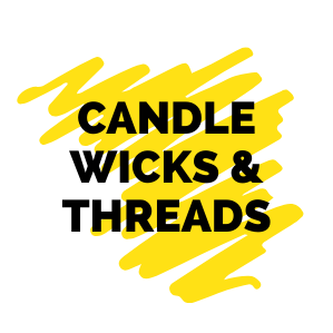 Buy Candle Wicks & Threads Wax Coated With Sustainer in India-The Art Connect