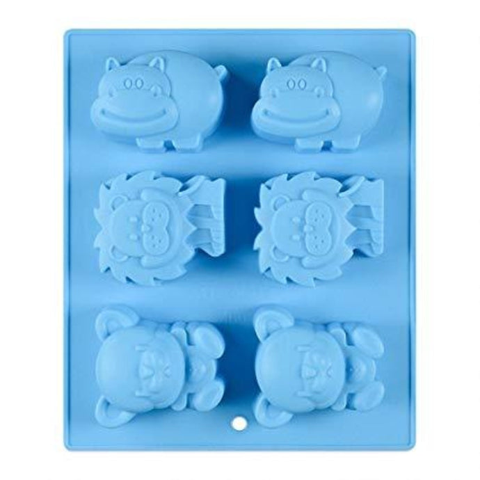 Buy Animal Silicone Moulds for Soap Making, Chocolate Making and Baking Online in India - The Art Connect