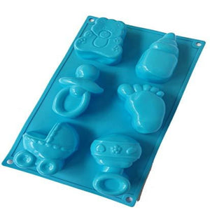 Buy Baby Shower Silicone Moulds for Soap Making, Chocolate Making and Baking Online in India - The Art Connect
