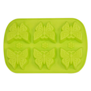 Buy Butterfly Silicone Moulds for Soap Making, Chocolate Making and Baking Online in India - The Art Connect