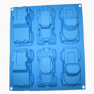 Buy Car Silicone Moulds for Soap Making, Chocolate Making and Baking Online in India - The Art Connect