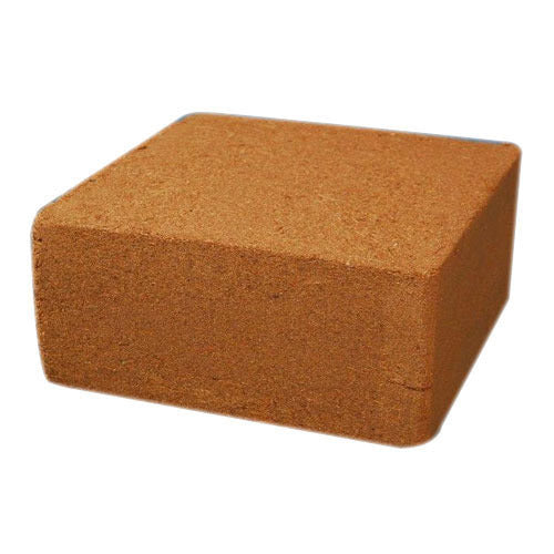 Coco Peat Block (High EC, Unwashed) - 5Kgs