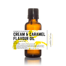 Load image into Gallery viewer, Cream & Caramel Flavour Oil