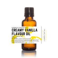 Load image into Gallery viewer, Creamy Vanilla Flavour Oil