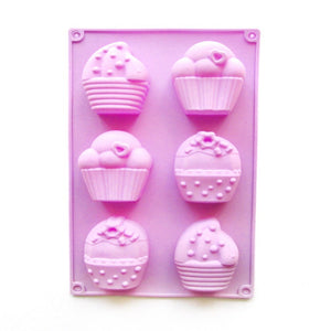 Buy Cupcake Silicone Moulds for Soap Making, Chocolate Making and Baking Online in India - The Art Connect