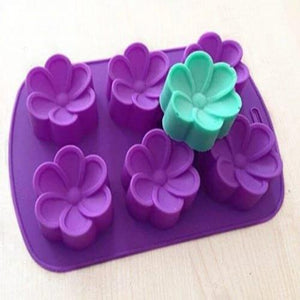 Buy Flower  Silicone Moulds for Soap Making, Chocolate Making and Baking Online in India - The Art Connect