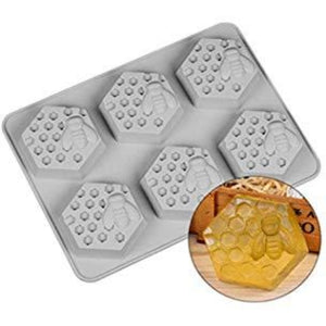 Buy Honey Bee Hive Silicone Moulds for Soap Making, Chocolate Making and Baking Online in India - The Art Connect