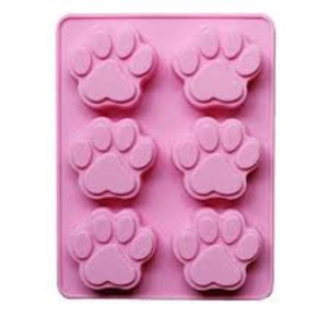Buy Paw Silicone Soap Mould - 50gms Silicone Moulds for Soap Making, Chocolate Making and Baking Online in India - The Art Connect