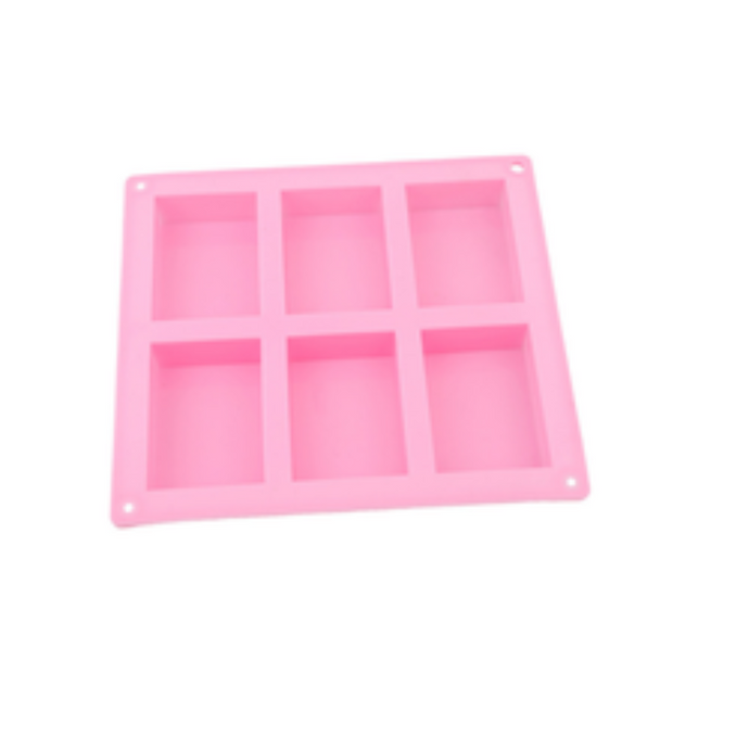 Buy Rectangle Silicone Soap Mould - 100gms Silicone Moulds for Soap Making, Chocolate Making and Baking Online in India - The Art Connect