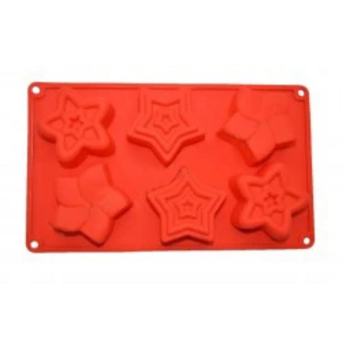 Buy Star Silicone Soap Mould Silicone Moulds for Soap Making, Chocolate Making and Baking Online in India - The Art Connect