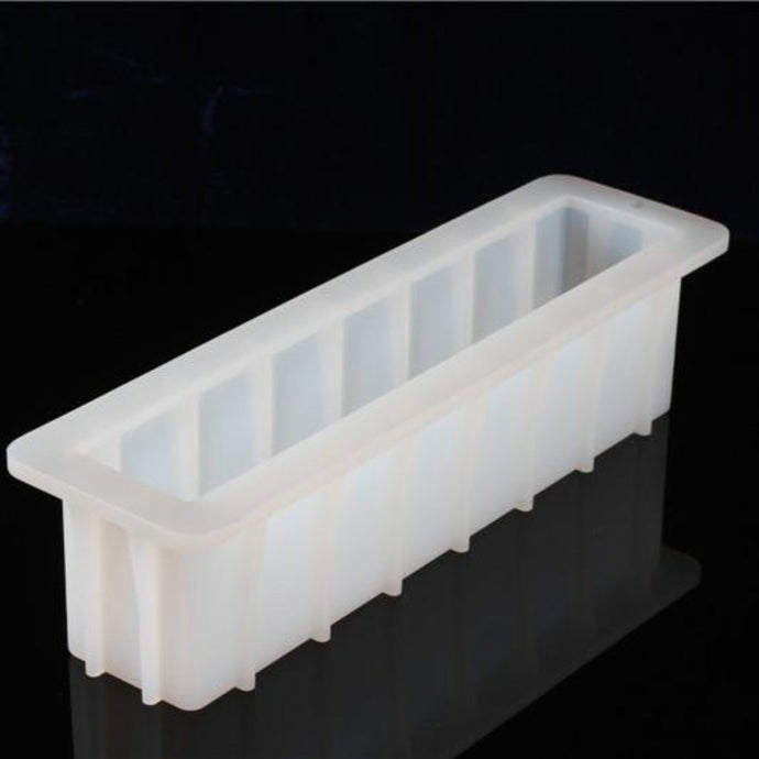 Buy Sturdy Silicone Loaf Soap Mould Silicone Moulds for Soap Making, Chocolate Making and Baking Online in India - The Art Connect