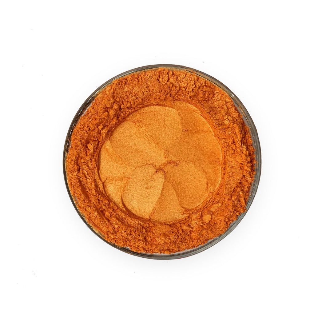 Pearlescent Cosmetic Mica Colour - Orange