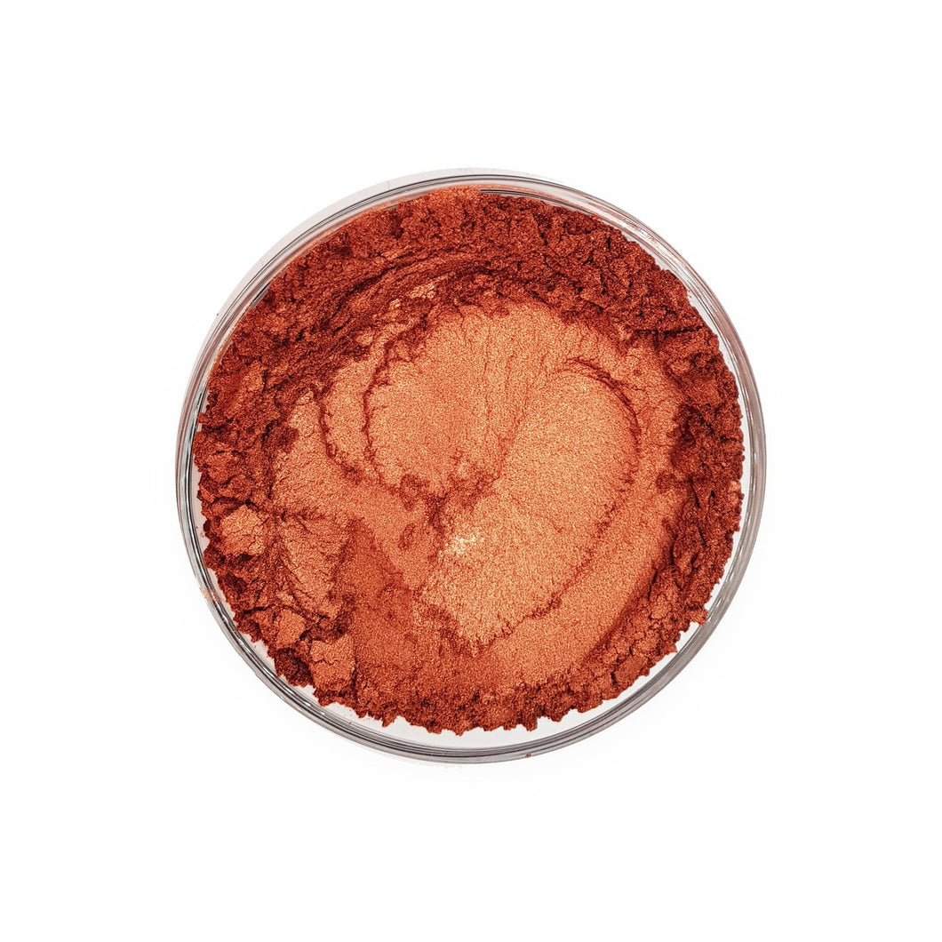 Pearlescent Cosmetic Mica Colour - Copper