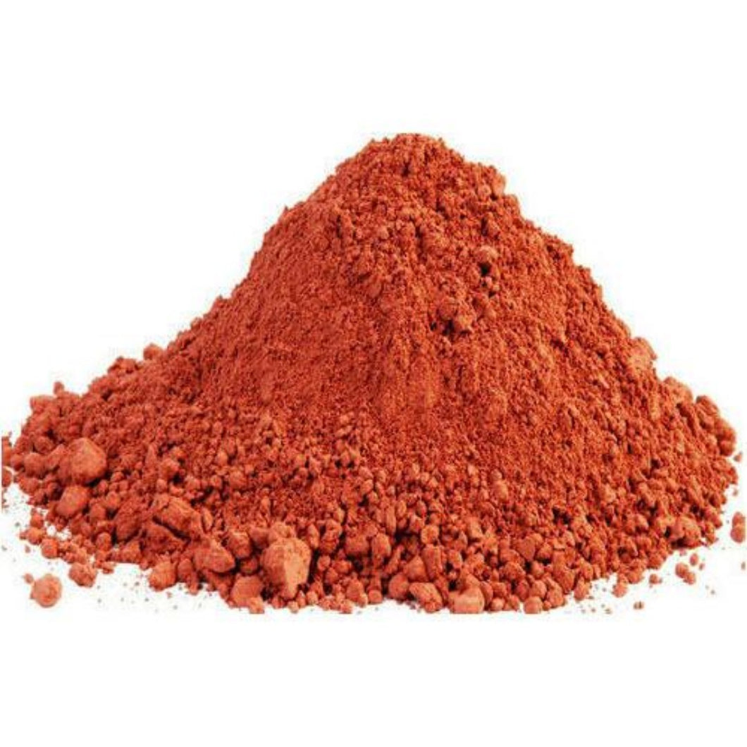 Moroccon Rhassoul (Ghassoul) Clay (Red)