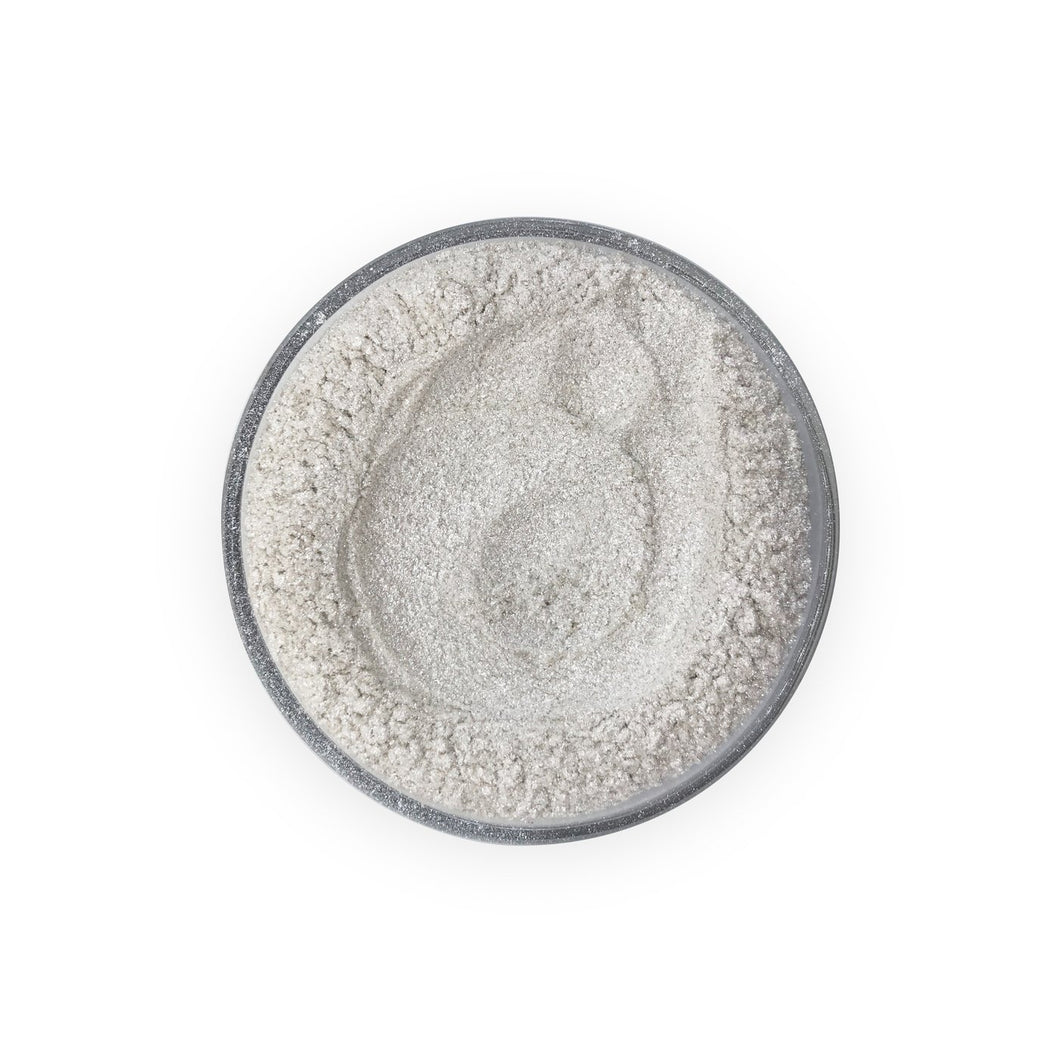 Pearlescent Cosmetic Mica Colour - Ivory Silver