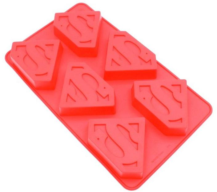 Superman Silicone Soap Mould - 100gms,  Cosmetic Junction