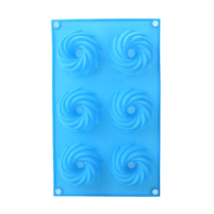 Swirl Design Soap Mould-115gms,  Cosmetic Junction