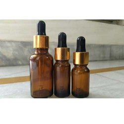 Amber Glass Dropper Bottle,  Cosmetic Junction