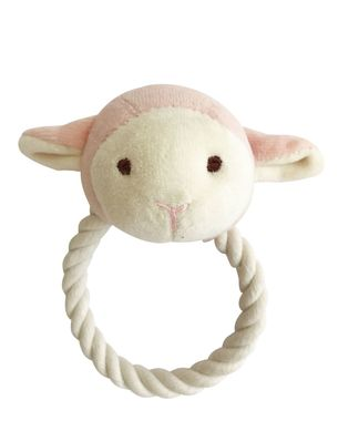 SimplyFido Beginnings Lolly Lamb Rope Toy