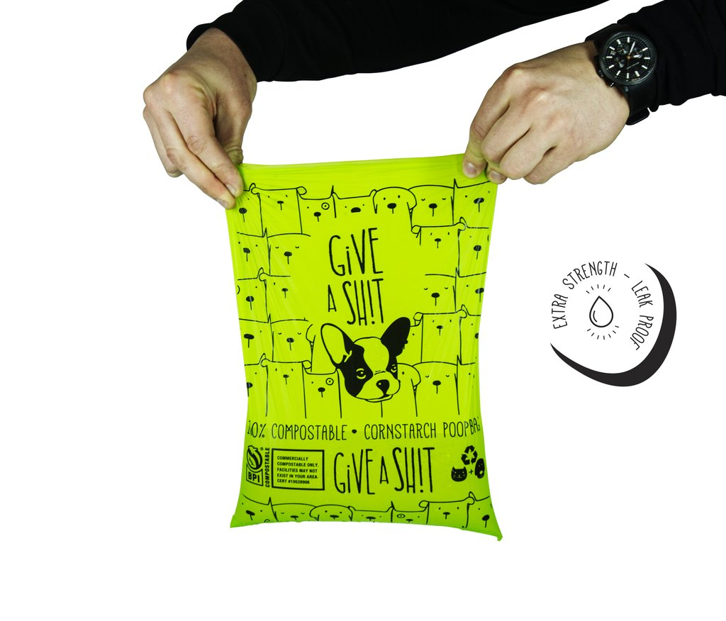 Give a Sh!t Compostable Poop Bags