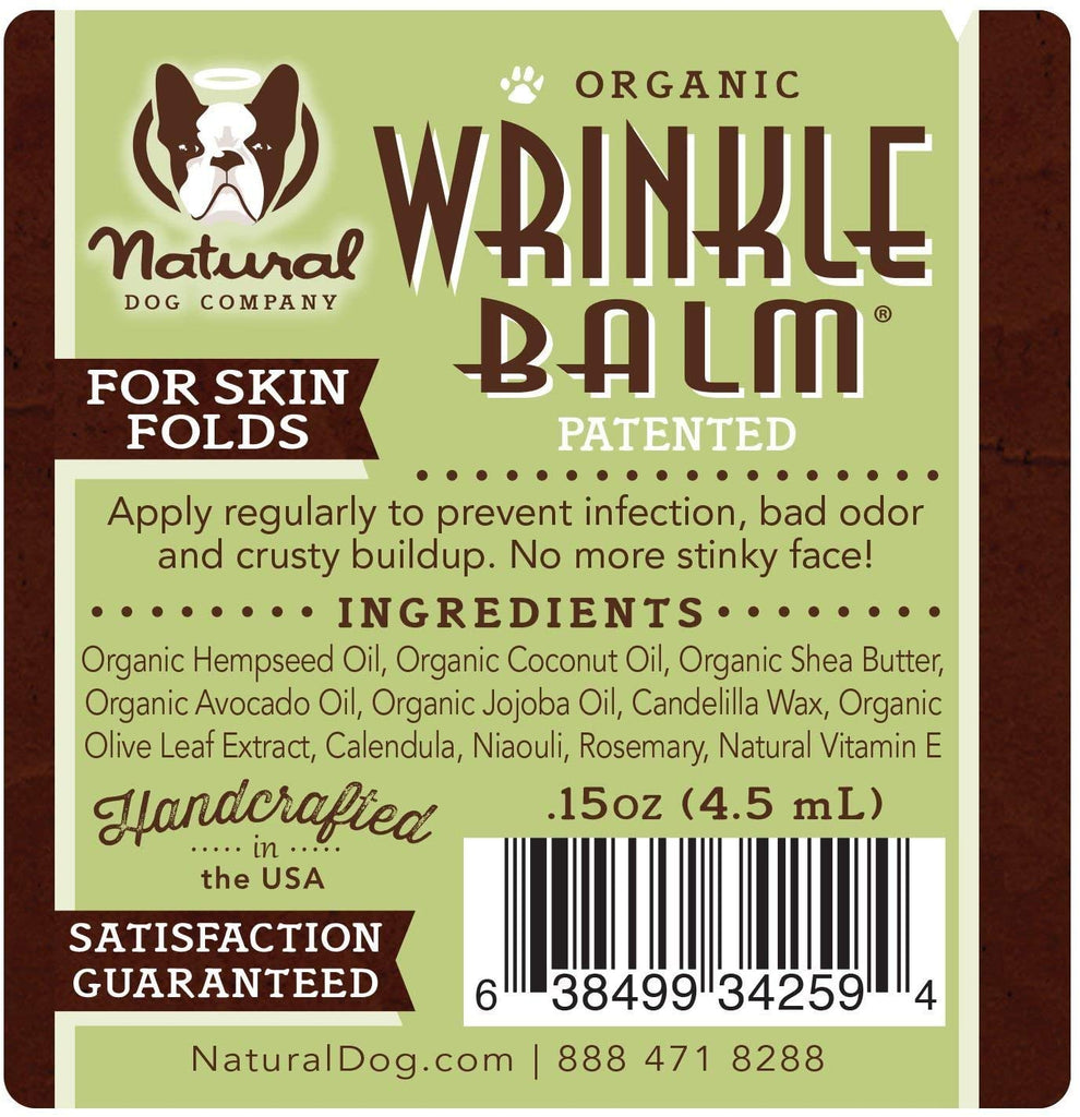 Natural Dog Company Wrinkle Balm