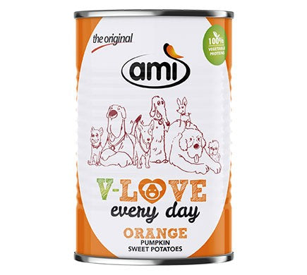 Ami V-Love Everyday Canned Wet Dog Food (Pumpkin & Sweet Potato)