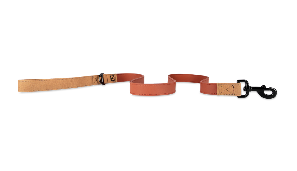 Herzog Terracotta Dog Leash